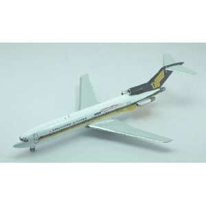 Jet X Singapore Airlines 727 200 Model Airplane