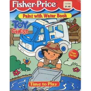 Fisher price Toy Chest Paint with Water Book (Time to Play
