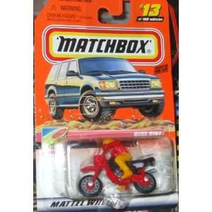 Matchbox Dirt Bike #13 of 100 to the Beach Toys & Games