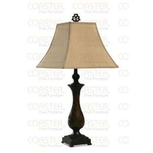 Beautiful Traditional Style Table Lamp With Fabric Lamp