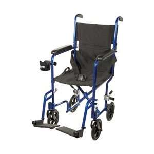 Medical Deluxe Aluminum Transport Wheelchair