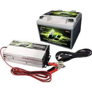 Charger Kit with Top Mount Battery Terminal and One Battery Charger