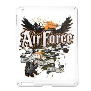 iPad 2 Case White of Air Force US Grunge Any Time Any Place Any Where