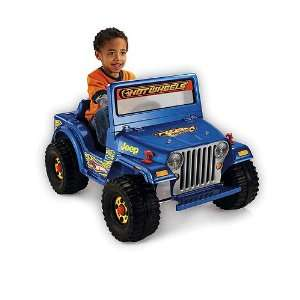 Fisher Price Power Wheels Hot Wheels Jeep  Toys & Games