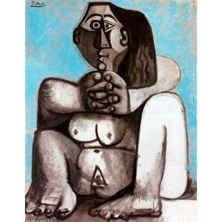 Hand Made Oil Reproduction   Pablo Picasso   24 x 32 inches   Mujer