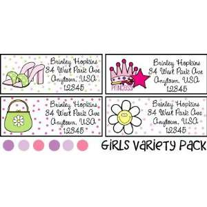 Variety Labels Pack   Girls Office Products