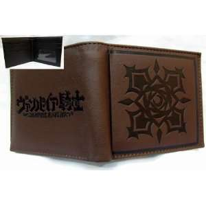 Vampire Knight Brown Logo Pvc Wallet