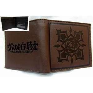 Vampire Knight Brown Logo Pvc Wallet