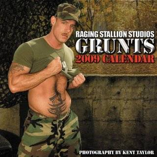 Raging Stallion Studios: Grunts 2009 Calendar by Raging Stallion