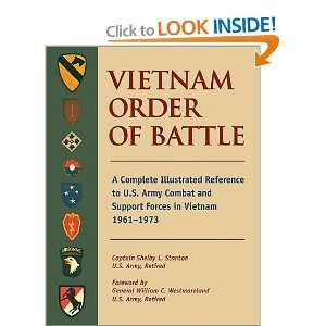 Vietnam Order of Battle A Complete Illustrated Reference to U.S. Army