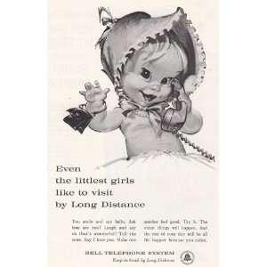 Telephone Betsy Bell Even the littlest girls Bell Telephone