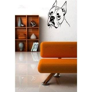 Boxer Dog Vinyl Wall Decal Sticker Graphic