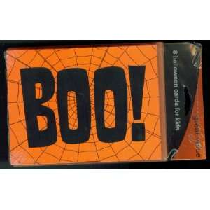 American Greetings Boo Cards Halloween. 8 Cards 8 Envelopes. Includes