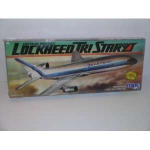 Eastern Airlines Lockheed Tri Star   Plastic Model Kit