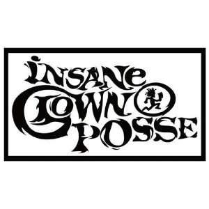Magnet: INSANE CLOWN POSSE (ICP) B&W Hatchet Man Logo: Everything Else