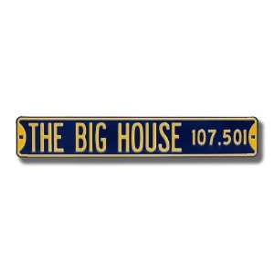 The Big House Sign Sports & Outdoors