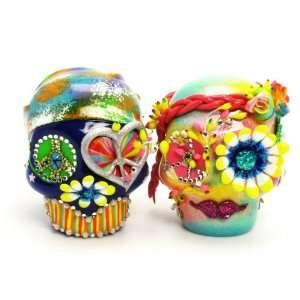 Love never Dies Skull Day of The Dead Wedding Cake Topper A00016 Skull