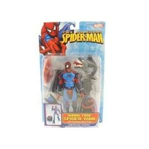 SHARK TRAP SPIDER   MAN : Toys & Games :