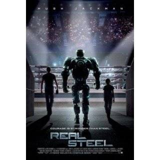 Real Steel Advance Movie Poster Double Sided Original 27x40
