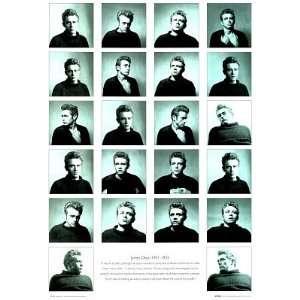 James Dean REBEL eden GIANT many faces POSTER PRINT