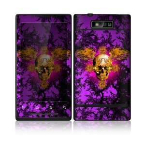 Gothika Skull Design Decorative Skin Cover Decal Sticker for Motorola