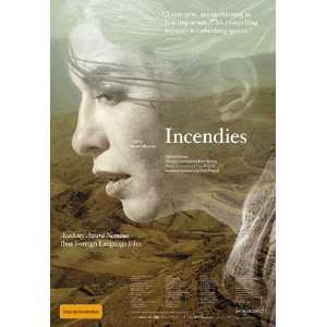 Incendies Framed Poster Movie Australian Style A 11 x 17
