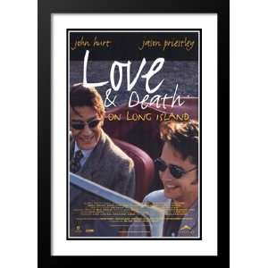 Love and Death on Long Island 32x45 Framed and Double