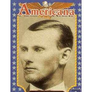 1992 Starline Americana #133 Jesse James Trading Card