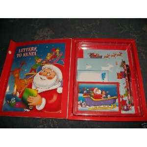 Letters To Santa   A Book and Letter writing Kit