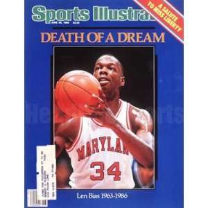 1986 Len Bias Maryland Terrapins Sports Illustrated