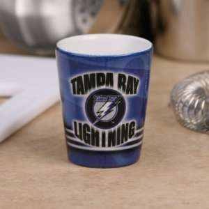 Tampa Bay Lightning Navy Blue Slapshot Ceramic Shot Glass