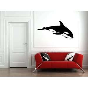 Orca Killer Whale Large Vinyl Wall Decal Sticker Graphic