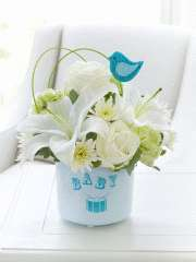New Baby Boy Flowers   Interflora