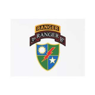 3rd Ranger Bn Scroll, Crest, Ranger Tab Custom Invite  Zazzle.co.uk
