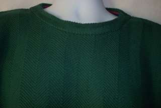 Mens Alexander Julian Colours Green Sweater Medium