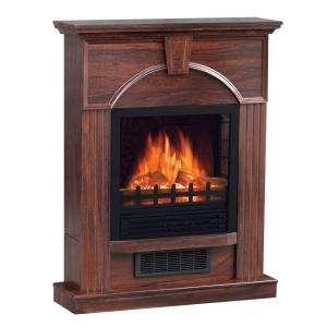 Sylvania SB115 MBK Quality Craft Antique Electric Stove Heater