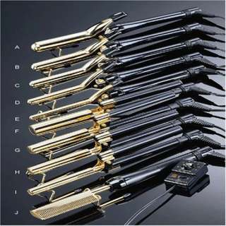Gold N Hot Pressing/Styling Comb with MTR 24K Plate