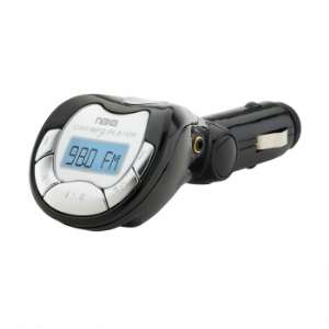 NAXA NA 3026 MP3/WMA FM Modulator/Transmitter with LCD Screen, USB