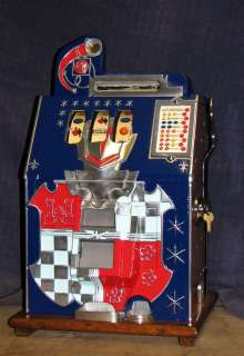 Mills 25c CASTLE FRONT antique slot machine 1934