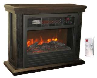 LifeSmart Electric Dynamic Infrared Fireplace Heater (736211814661