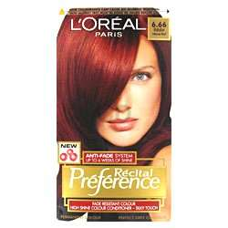 Prfrence Babylon Intense Red 6.66, £7.19, Loreal Hair Color Products