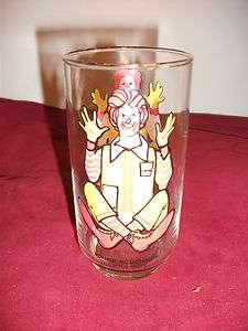 McDonalds Ronald McDonald Series Collectable Glass Cup |