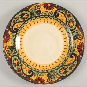 Corsica Home Crown Jewel Dinner Plate, Fine China Dinnerware