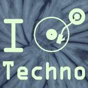 Music Rave / I love Techno Music Rave / I heart Techno Music Rave