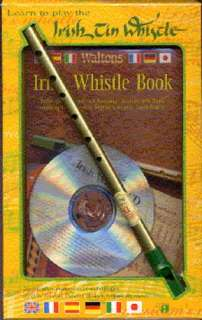 Learn To Play The Irish Tin Whistle   Pennywhistle Instrument Pack