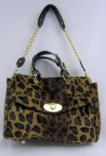 NEW $102 JANIE BRYANT RETRO ANIMAL PRINT BAG [138]
