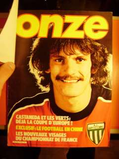 French football magazine ONZE DOR 1981 # 68 RARE