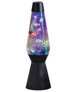 Lava Brand Grande Lava Aquarium Fish Lamp. from Homebase.co.uk