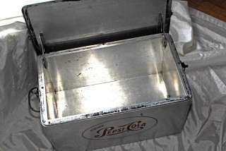 Beautiful vintage Pepsi Cooler 1950s.