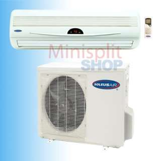 Ductless Mini Split 18000 Air Conditioner A/C Cooling Heat Pump Soleus